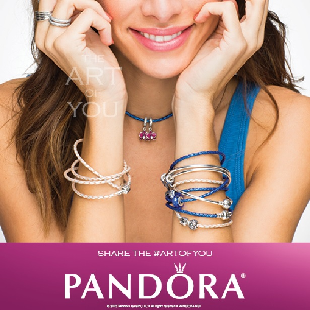 Pandora - Leather.JPG - brand name designer jewelry in College Station, Texas