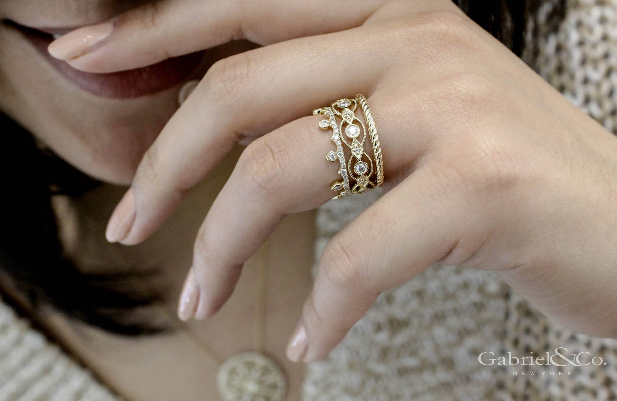 Gabriel & Co - Stackables_2.jpg - brand name designer jewelry in College Station, Texas
