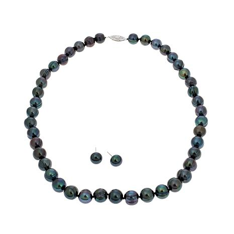 Imperial Pearls - imperialpearlsblackculturedpearl2pcjewelrysetd20161216112735217525339.jpg - brand name designer jewelry in College Station, Texas