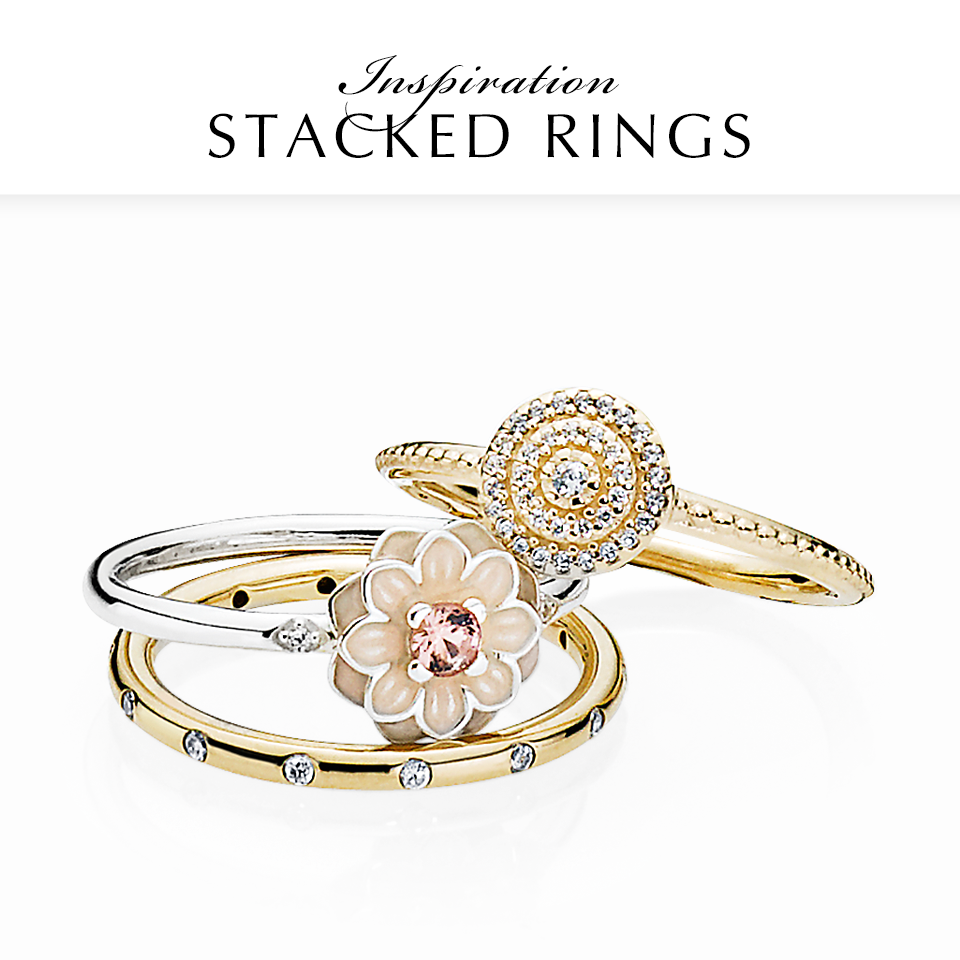 Pandora - rings.png - brand name designer jewelry in College Station, Texas