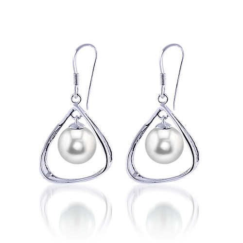 Imperial Pearls - sterling_and_pearl_dangle.jpg - brand name designer jewelry in College Station, Texas